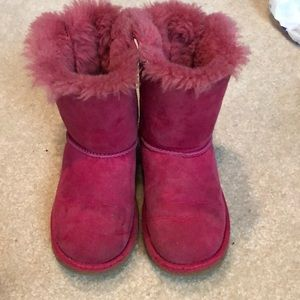 Authentic Ugg's Bailey bows